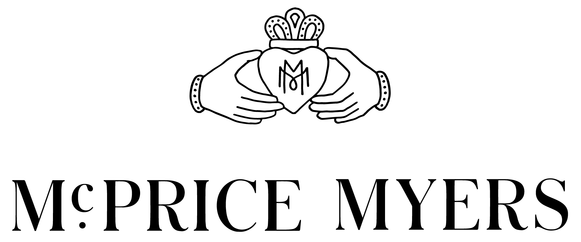 Mc Price Myers Logos Full Black