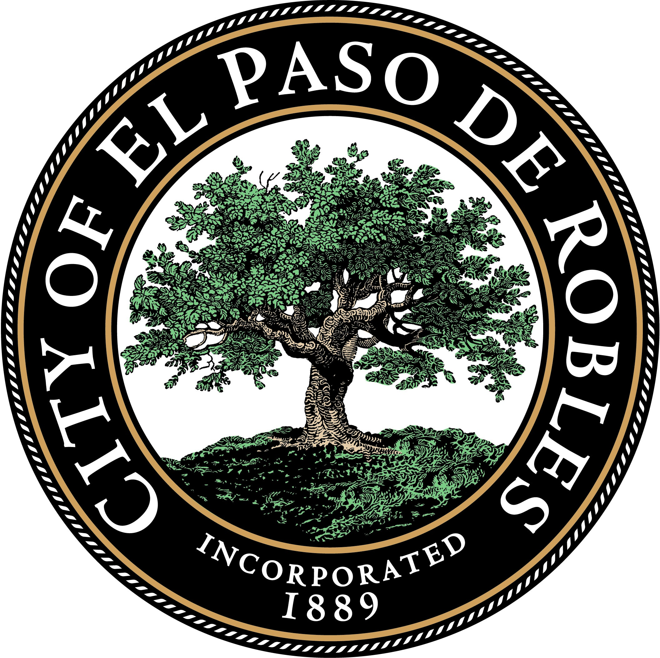 Paso Robles Seal Color