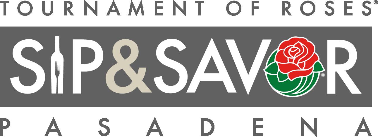 Sip Savor Logo Color Bg H